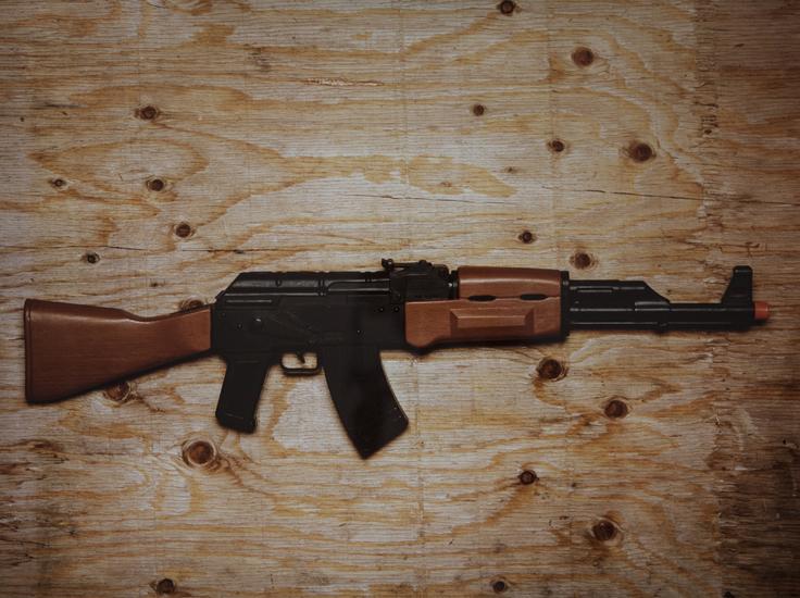 Brown Machine Gun (20x24 cibachrome)