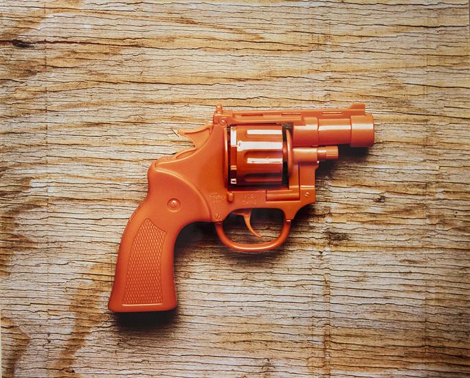 Orange Gun (20x24 cibachrome)