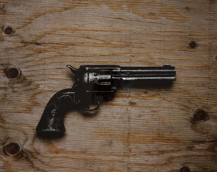 Hollywood Prop Gun (20x24 Cibachrome)
