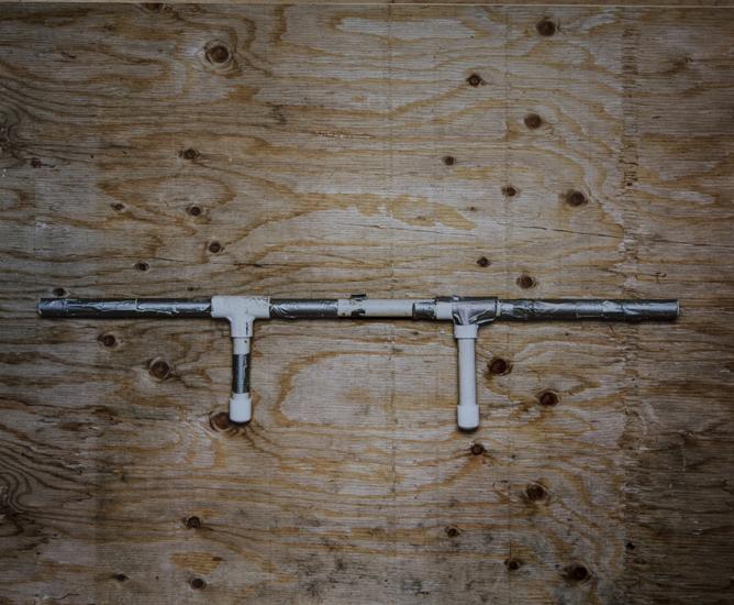 Marshmallow Gun (20x24 cibachrome)