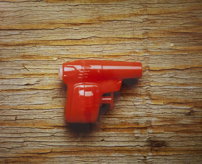 Red Squirt Gun (20x24 cibachrome)
