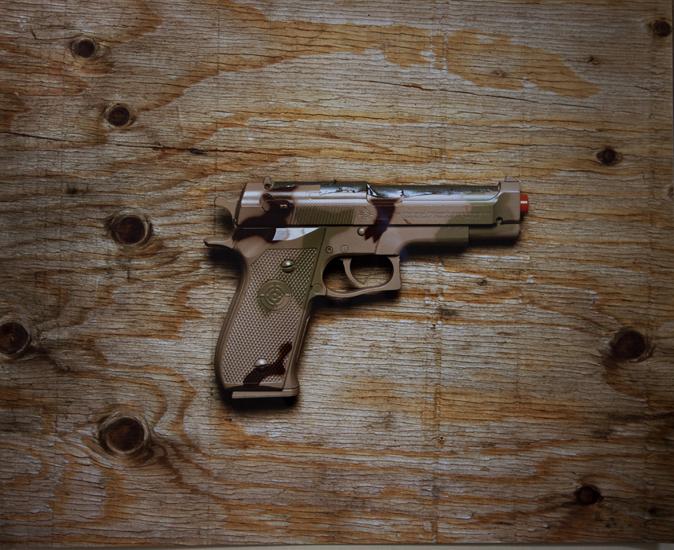 Army Pistol (20x24 cibachrome