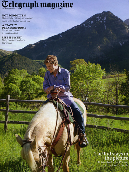 Robert Redford for Telegraph Magazine UK